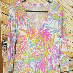 Lilly Pulitzer Scuba To Cuba Christie Dress Large